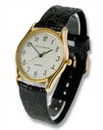 Gents Philip Mercier Black Strap Watch