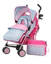 Obaby Zeal Stroller Bundle -Cottage Rose