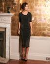Glitter Side Tuck Dress