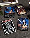 Set of 4 Star Wars Film Poster Coasters