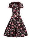 Voodoo Vixen Retro Cherry Dress