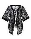 AX Paris Black Lace Cover Up