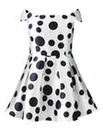 AX Paris Polka Dot Print Skater Dress