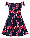 AX Paris Floral Navy Skater Dress