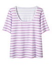 Sprinkle of Glitter Stripe Jersey Top