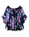 AX Paris Floral Gypsy Top