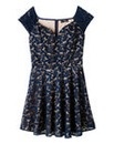 AX Paris Sweetheart Neck Skater Dress