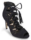 Sole Diva Lace Up Heels D Fit