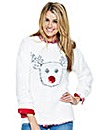 Reindeer Fluffy Jumper