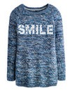 Slub Logo Smile Jumper