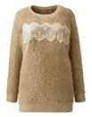 Angel Ribbons Lace Trim Jumper-L29