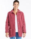 Sherpa Fleece Shirt Jacket