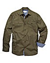 Jacamo LS Military Shirt Extra Long