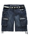 Crosshatch New Player Denim Shorts