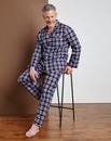 Southbay Check Long Sleeve Pyjamas