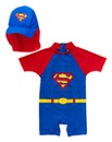Superbaby Swimsuit and Hat Two Piece Set