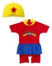 Wonderwoman Swimsuit and Hat Set