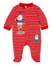 Christmas Velour Sleepsuit