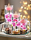 Pink Floating Candle Set