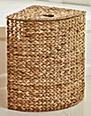 Water Hyacinth Hearts Corner Hamper.