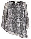 Sienna Couture Snake Print Top
