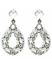 Mood Opalesque Crystal Teardrop Earring