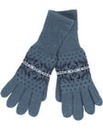 Brakeburn Knitted Gloves Blue