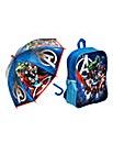 Marvel Avengers Backpack & Umbrella
