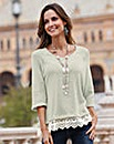Together Lace Trim Jumper