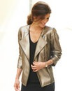 JOANNA HOPE PU Biker Jacket