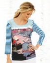 JOANNA HOPE Print Jersey Top