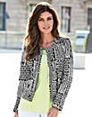 JOANNA HOPE Print Jacket