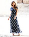 JOANNA HOPE Maxi length Beaded Dress