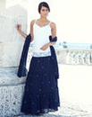JOANNA HOPE Maxi Skirt and Scarf