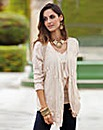 Together Lace Trim Cardigan