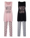 Pretty Secrets Pack of 2 Legging Set