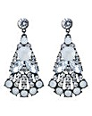 Mood Tonal crystal drop earring