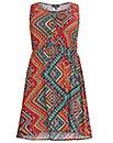 Samya Sleevless Aztec Print