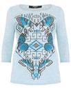Koko Butterfly Print T-shirt
