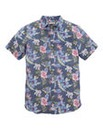 WILLIAMS & BROWN Floral Linen Mix Shirt