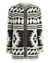 Aztec Fluffy Cardigan