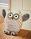 Personalised Owl Door Stop