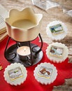 Yankee Candle Petal Bowl Melt Warmer Set