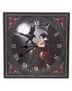 Dark Angel Raven Fantasy Picture Clock