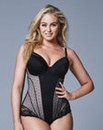 Plunge Medium Control Black Bodyshaper