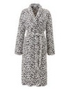 Pretty Secrets Fleece Wrap Gown 48inches
