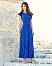 JOANNA HOPE Jet Jewel Trim Maxi Dress