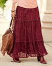 JOANNA HOPE Lace Maxi Skirt