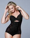 WYOB Light Control Black Lace Bodyshaper