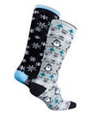 Naturally Close 2 Pack Christmas Socks